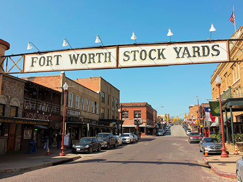 Fort Worth, Texas Stock Yards